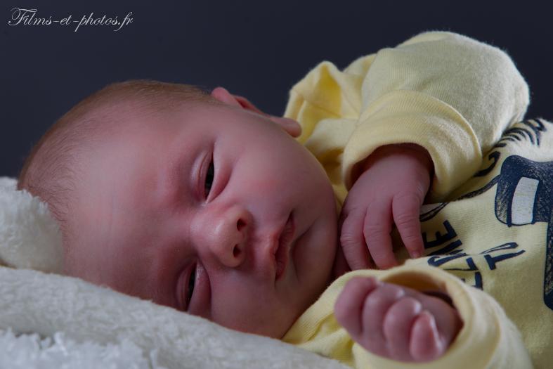 photographe en Normandie, nouveau né bébé